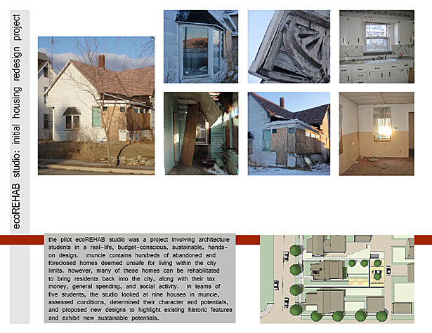 ecoREHAB Studio case studies