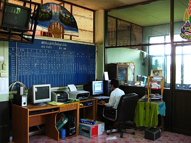 Ban Nam Yen School - Administration