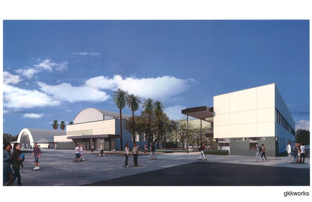 Rendering of Dorsey HS
