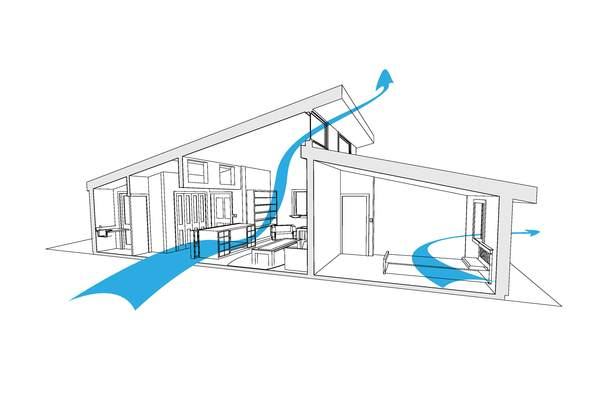 Natural Ventilation diagram