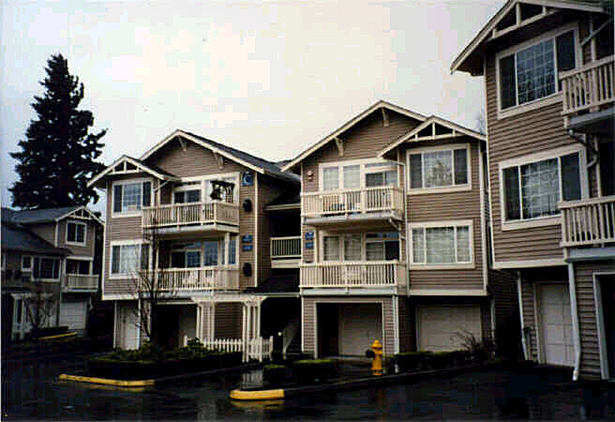 English Cove Condominiums, Kirkland WA Work done while with Riebe & Associates