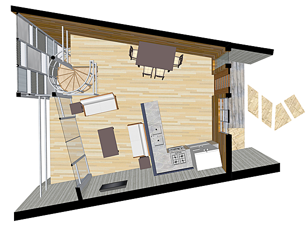 upper plan for typical unit