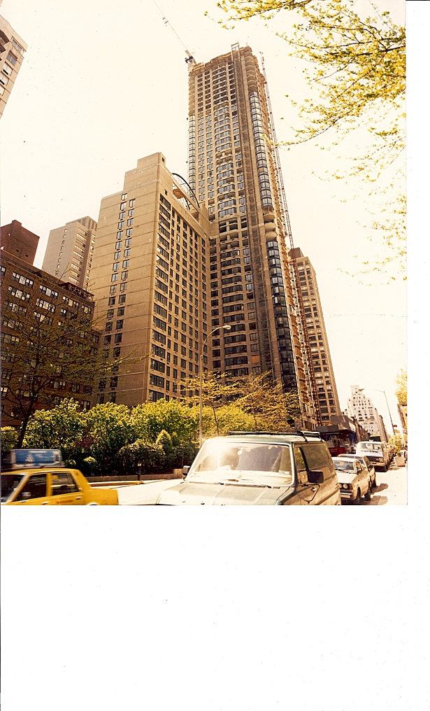 Ulrich Franzen FAIA - Bristol Plaza, New York NY