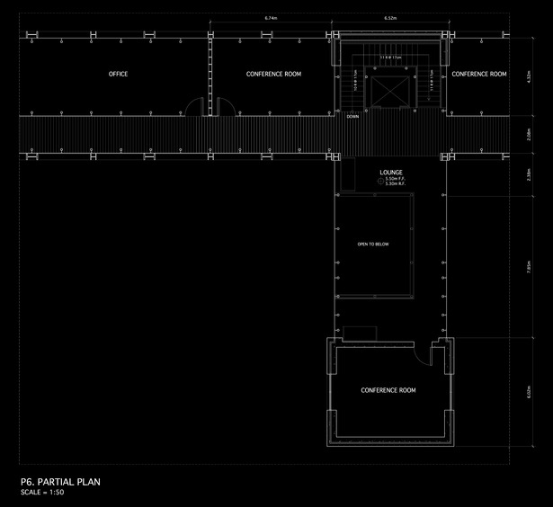 1:50 First Floor Plan (2nd Floor US)