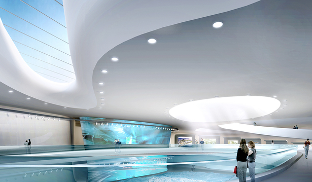 Planning Exhibition Center Interior 1