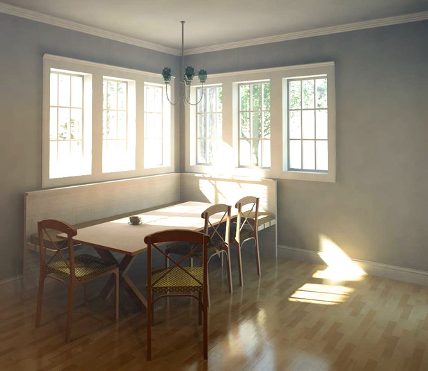 Kitchen Nook Rendering
