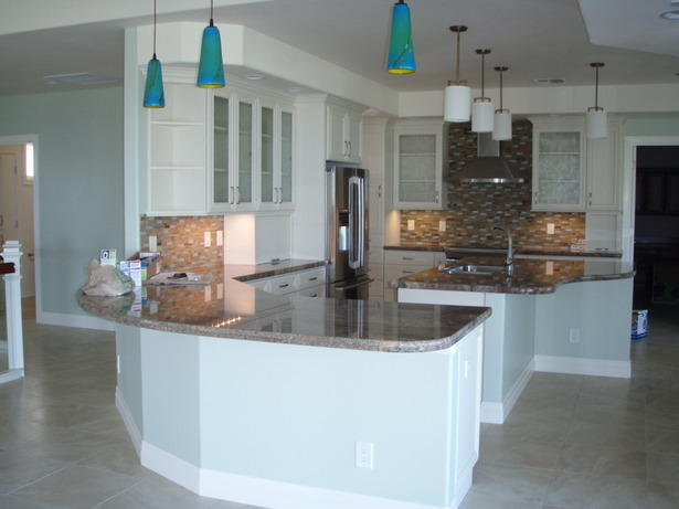 Wailea Spencer Home Kitchen Interior View
