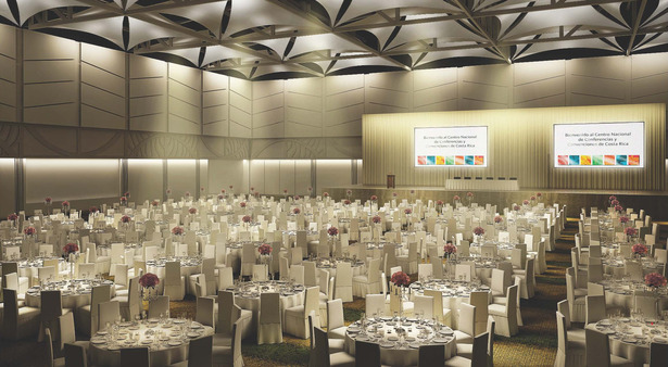 Exhibit Hall - Banquet Configuration