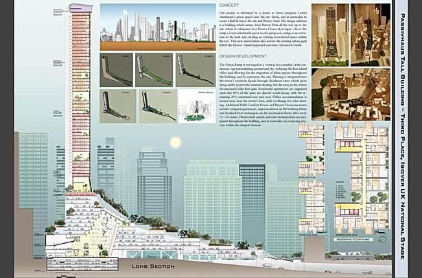 1st Semester Masters Project - Passivhaus Skyscraper