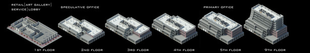 Floor Plan Axonometric