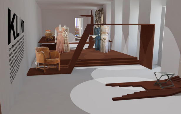 render of exhibit room 1
