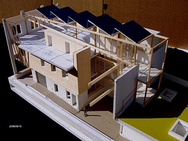 Physical model of The Green Building