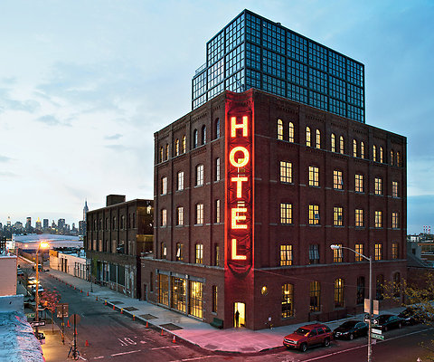 Wythe Hotel designed by MA in NYC {Gotham PR as Agency}