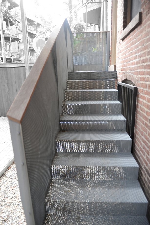 View of Stair at Rear