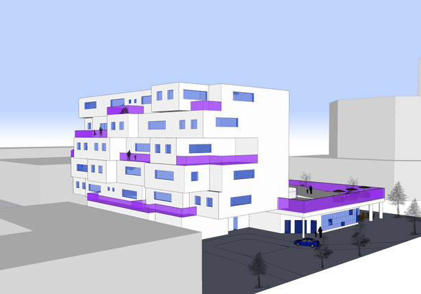 Boutique Hotel - SketchUp