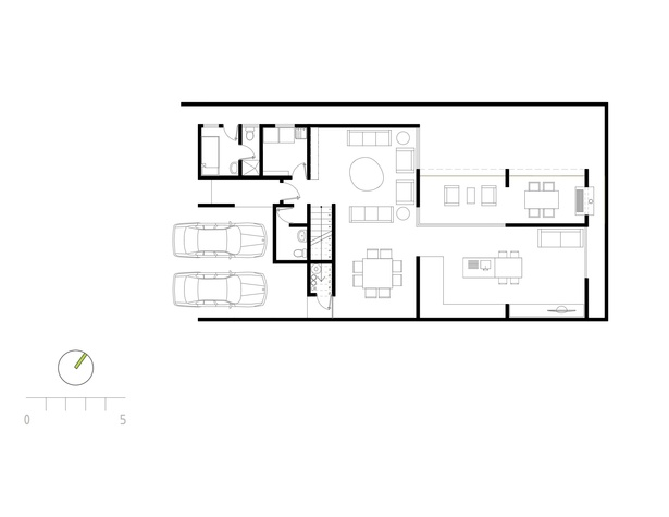 Floor plan of house 3