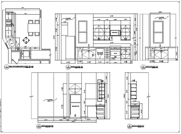 NEW KITCHEN ELEVATIONS