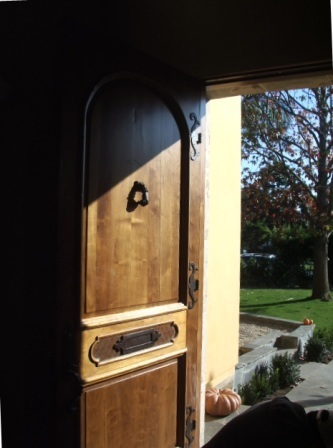 entry, custom door, Country French
