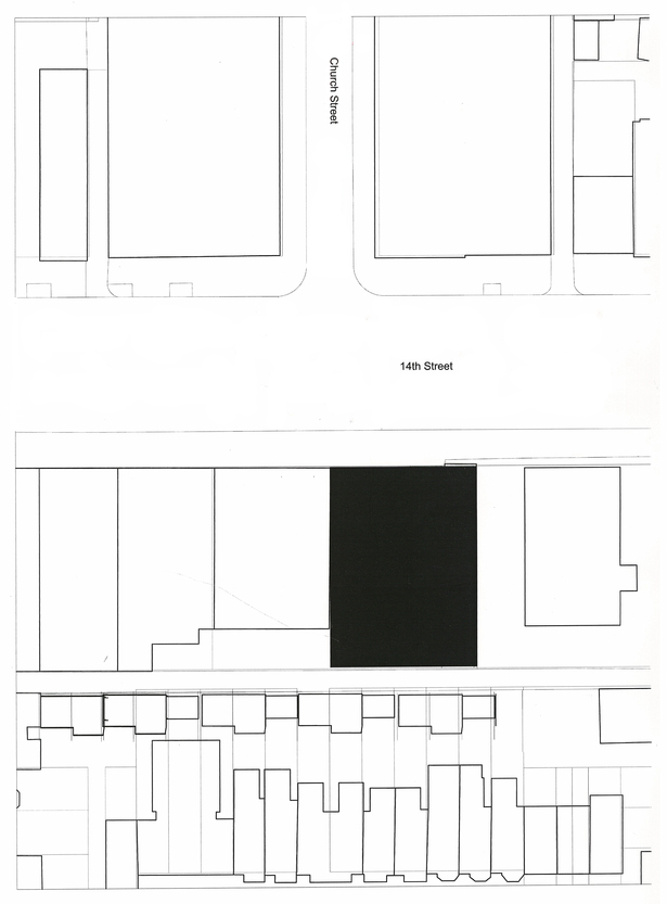 Site Plan of Church Street and 14th Street