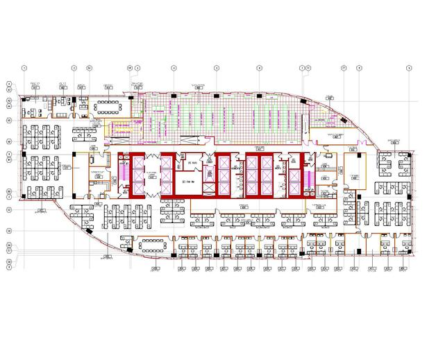 Data Center Floor Plan
