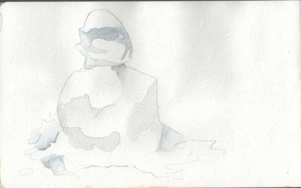 moleskin drawing