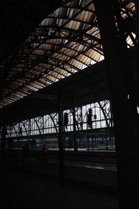 PRAGUE_Praha Hlavní Nádraží Station by Josef Fanta