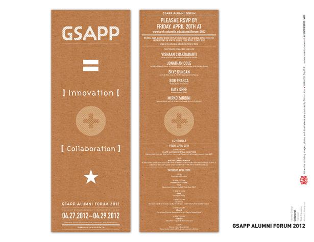 GSAPP Alumni Forum 2012