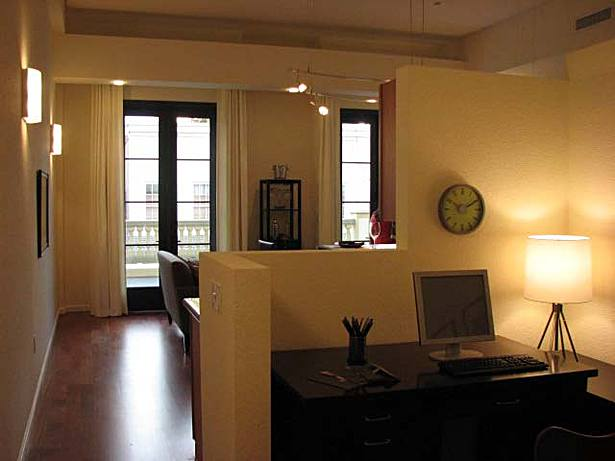 The Orleans; Interior view apartment
