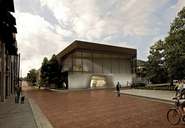 Louisiana Sports Hall of Fame Museum - Exterior Rendering (Image: Trahan)