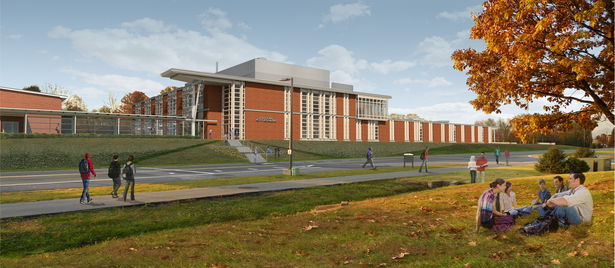 Final Entrance Rendering