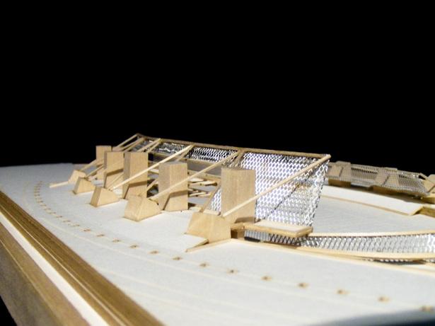 Inverted Stadium. Study Model. Final Iteration.