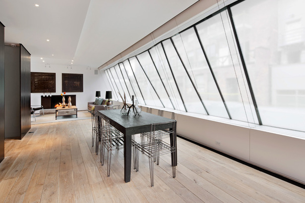 Midtown Minimal Dining Area. Photo: Evan Jospeh