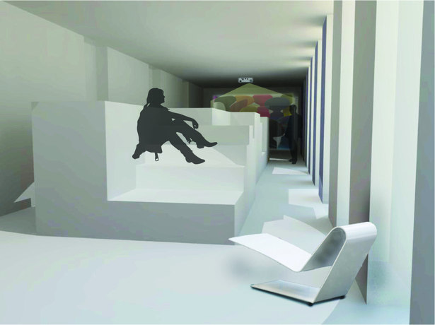render of exhibit room 3
