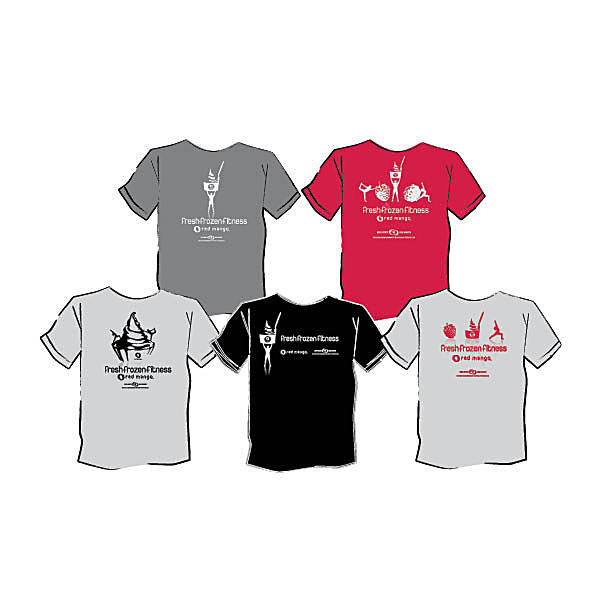 Red Mango Fitness T-shirts