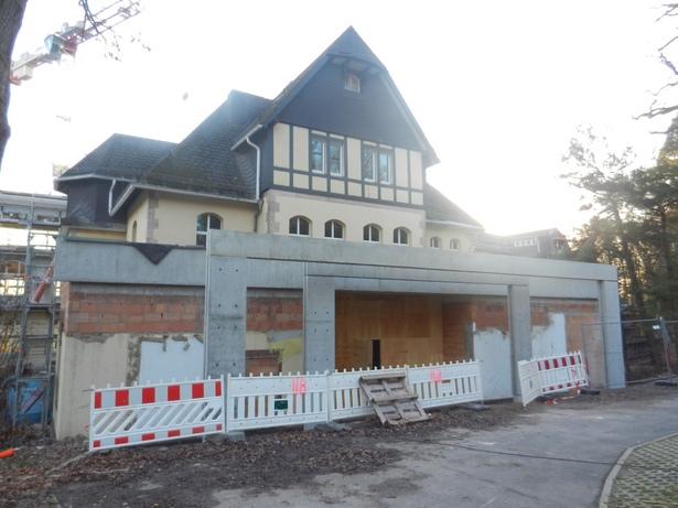building site main entrance