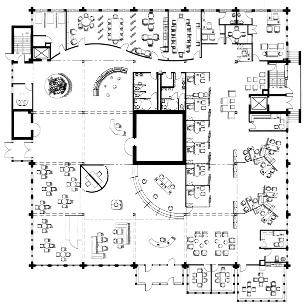 Bank Floorplan