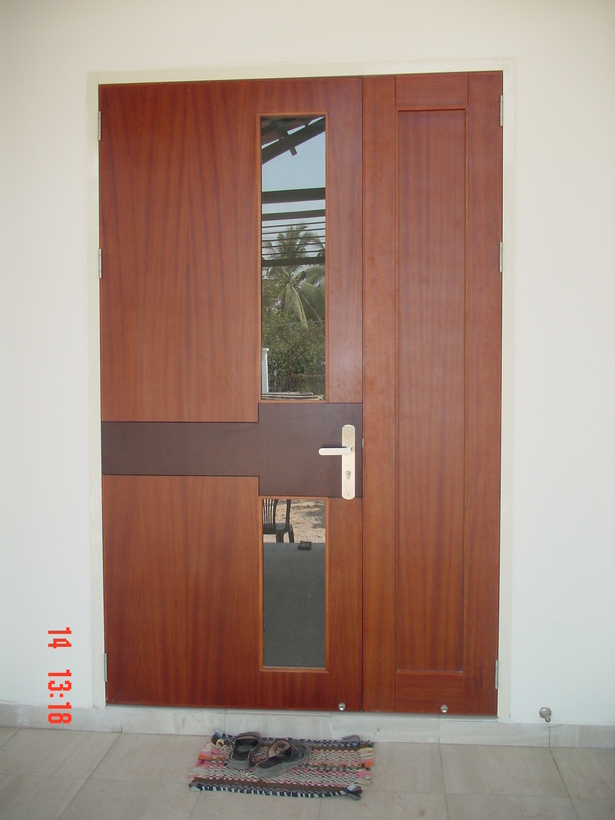 Construction phase - Entrance door