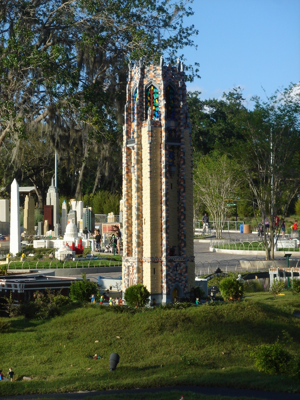 Bok Tower in Miniland, Legoland Florida in Winter Haven.