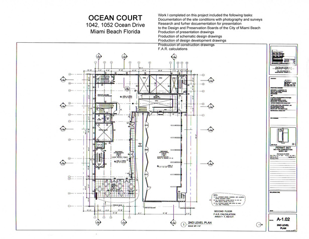 Ocean Court-second floor plan