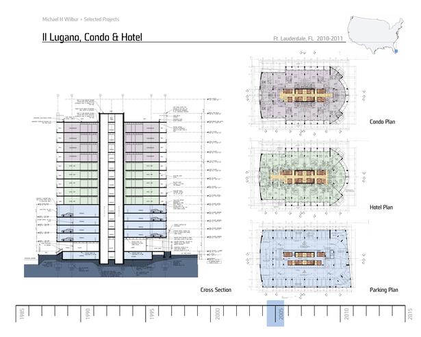 Il Lugano Typ Plans