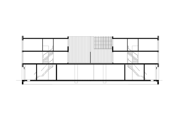 Claus en Kaan Architecten / Section - type 1