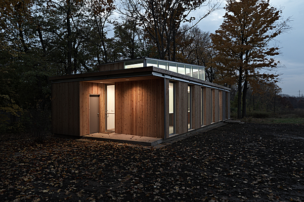 Ragdale Foundation Meadow Studio completed construction