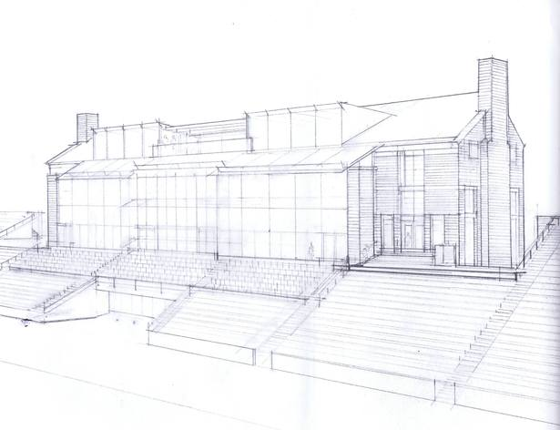 Sketch - Field Side Elevation