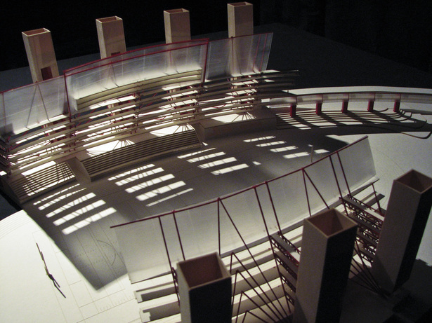 Inverted Stadium. Study Model. Second Iteration.