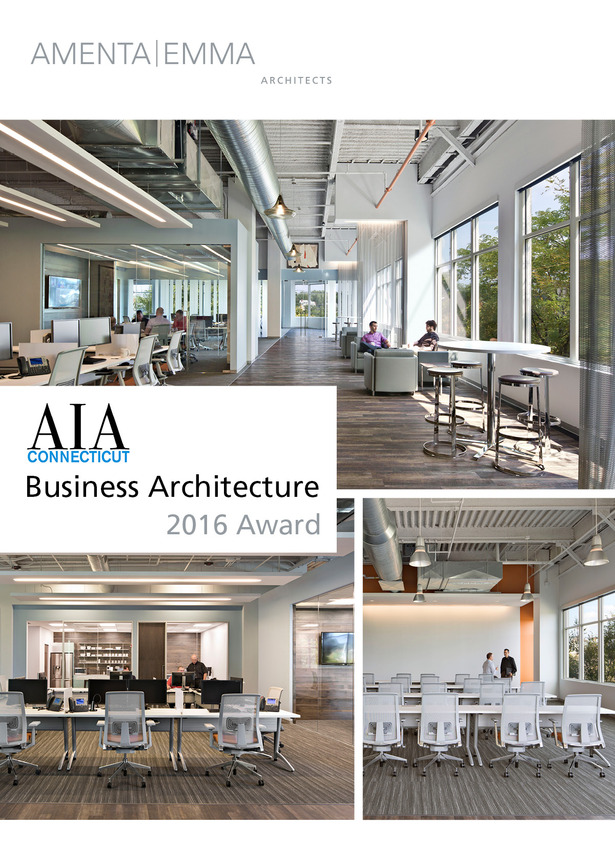 Amenta emma wins aia ct business architecture award for Architecture firms in michigan