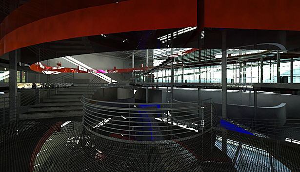 Interior view upon main entry