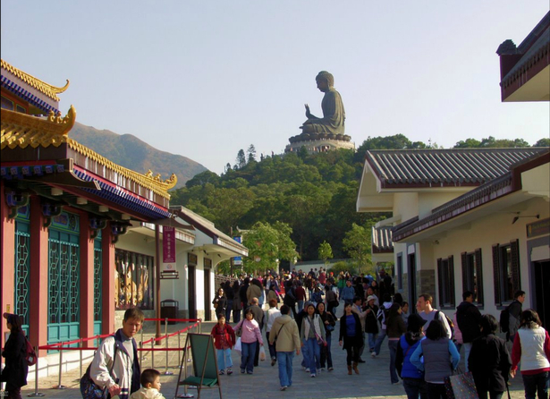 The Ngong Ping Them Village