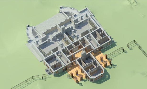 Perspective Image of Model w/o Roof