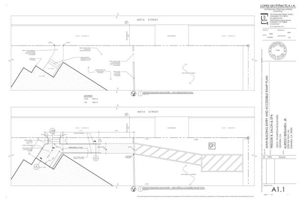 ADA Ramp Plan