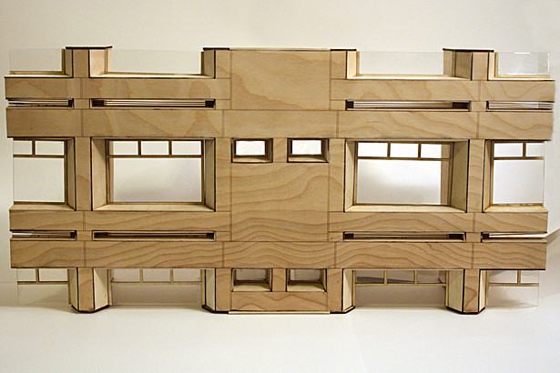 Facade Sectional Model - Front